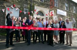 opening of the post office at the Anglers Rest pub