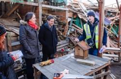 A wood repatriation community business in Tottenham