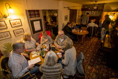 Quiz night at Bamford's community pub